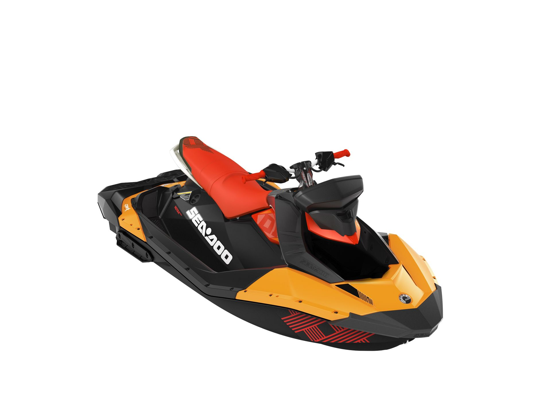 Sea-Doo Aquascooter Spark Trixx 3up Orange/Chili Pepper