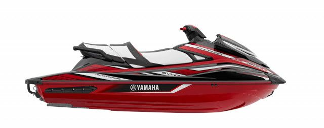 Yamaha Waterscooters GP1800R Black-Red