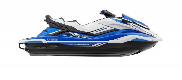 Yamaha Waterscooters FX Cruiser SVHO Blue