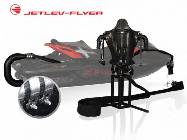 Jetlev-Flyer jetpack add-on kit + Electronics