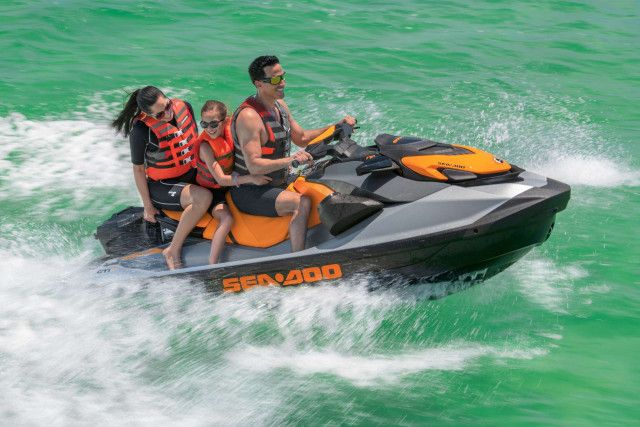 Sea-Doo Recreatie GTI SE 170 Beach Blue / Lava Grey
