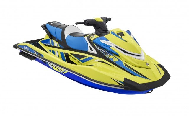 Yamaha Waterscooters Sport GP1800R SVHO Lime Yellow