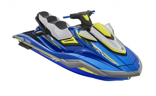 Yamaha Waterscooters Performance FX Cruiser SVHO Blue