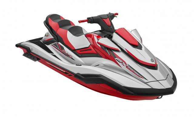 Yamaha Waterscooters FX Cruiser SVHO Red