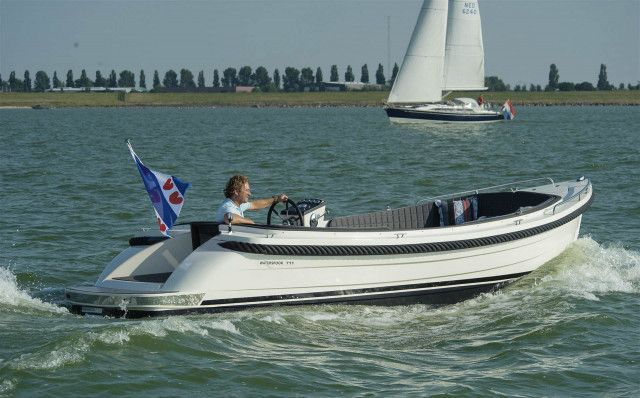 Waterspoor Tendersloep 711 Open