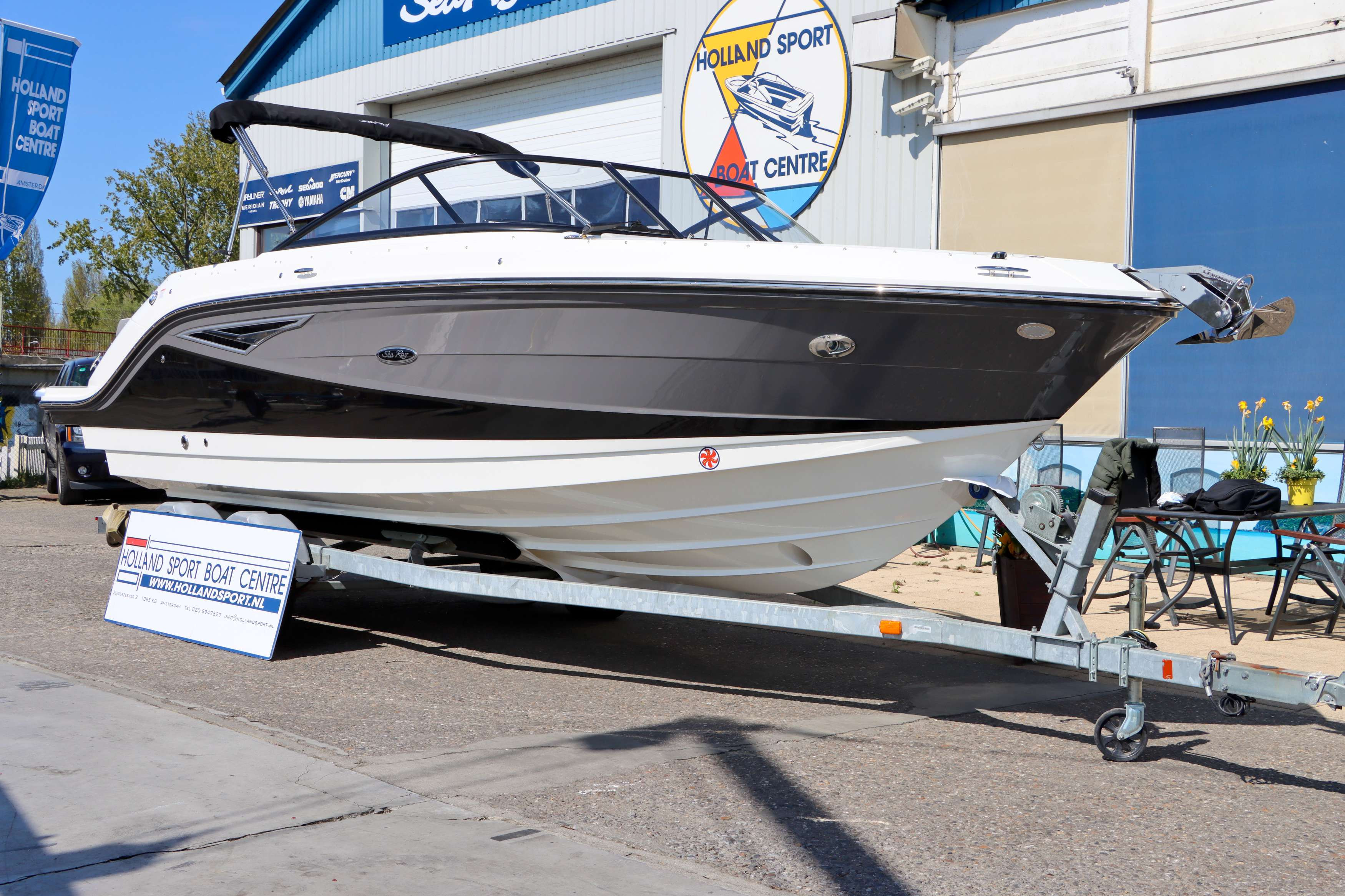 Sea Ray Bowrider 250 SLX (MY2020)