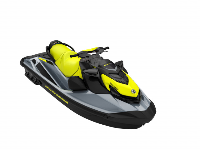 Sea-Doo GTi SE 170 Neon Yellow/Ice Metal