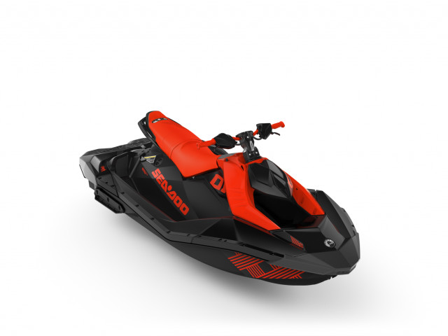 Sea-Doo Spark Trixx 3up Lava Red/Deep Black