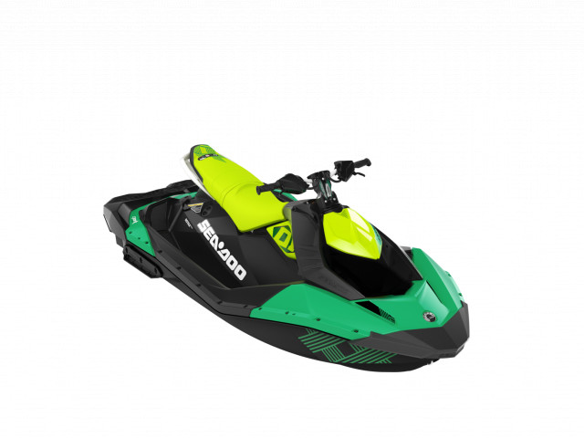 Sea-Doo Spark Trixx 3up Quetzal/Manta Green
