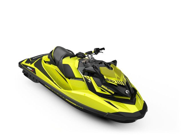 Sea-Doo Prestatie RXP-X 300 (Neon Yellow and Lava Grey)